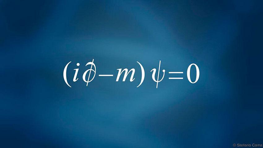 زیباشناسی علم، معادله دیراک